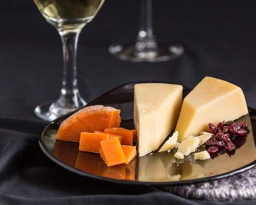Cheddar Cheeses with Wine Pairing - April 30