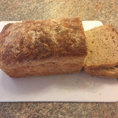 Whey English Muffin Bread
