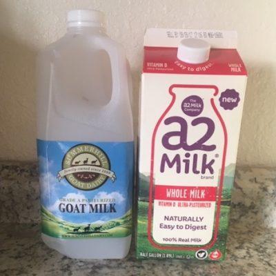 Lactose vs A1 in Milk